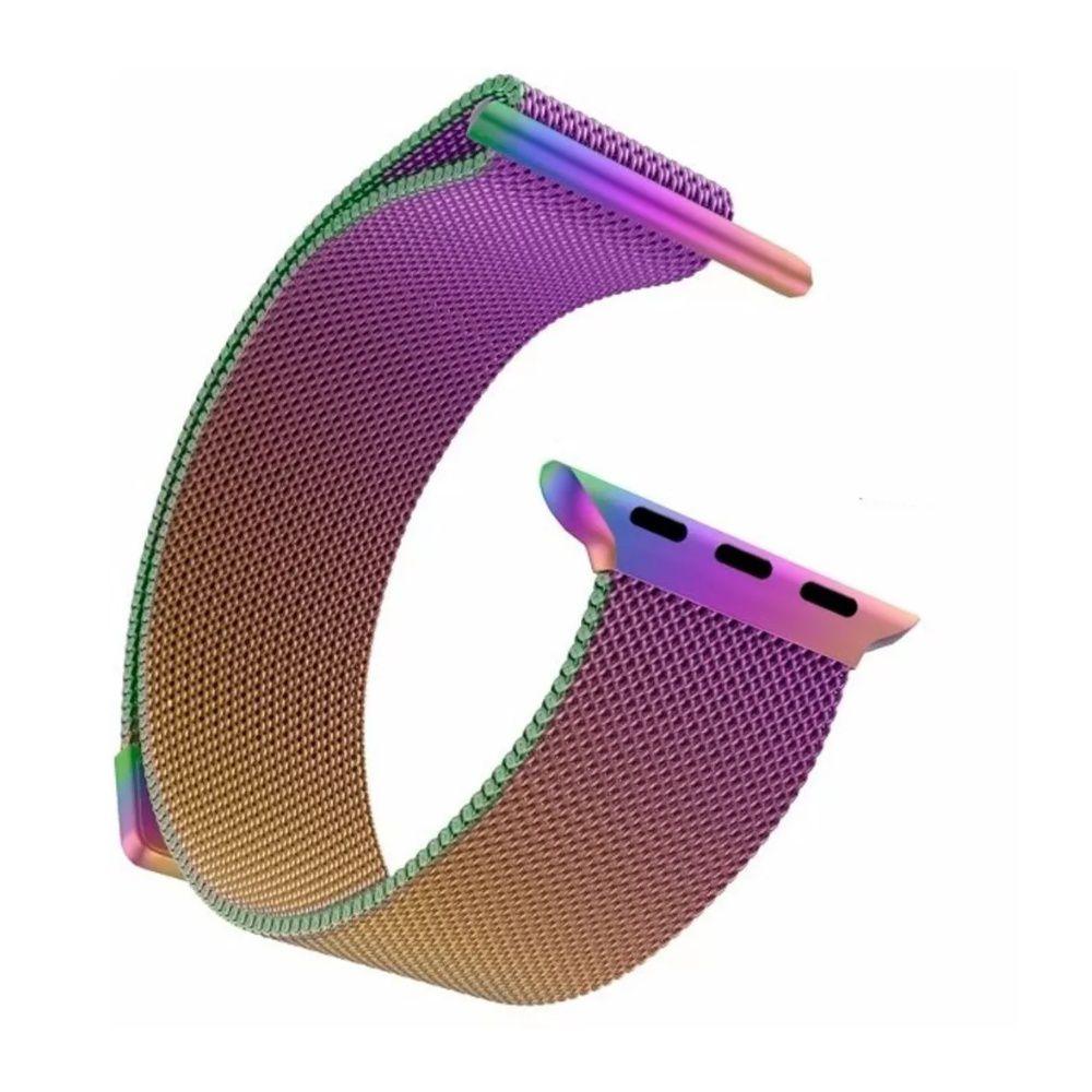 Pulseira Aço Smart Watch 42/44mm Furta Cor