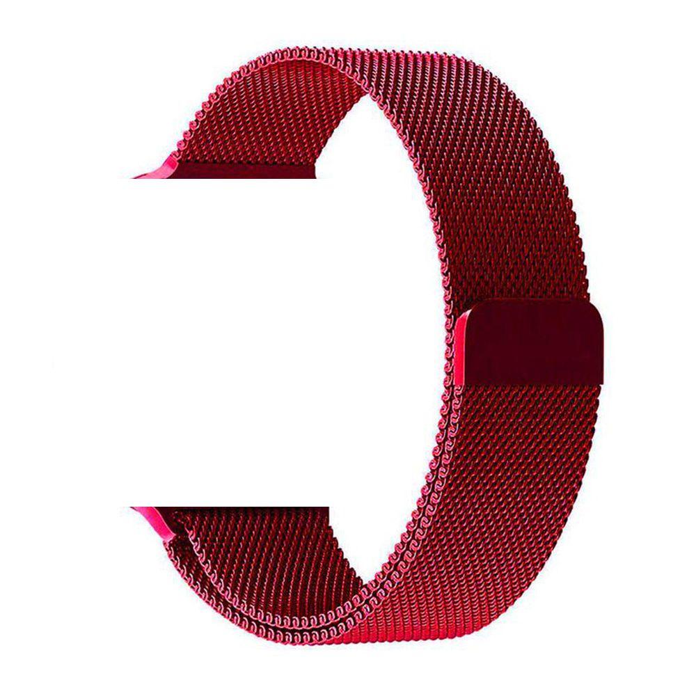Pulseira Aço Smart Watch Vermelho 38/40mm