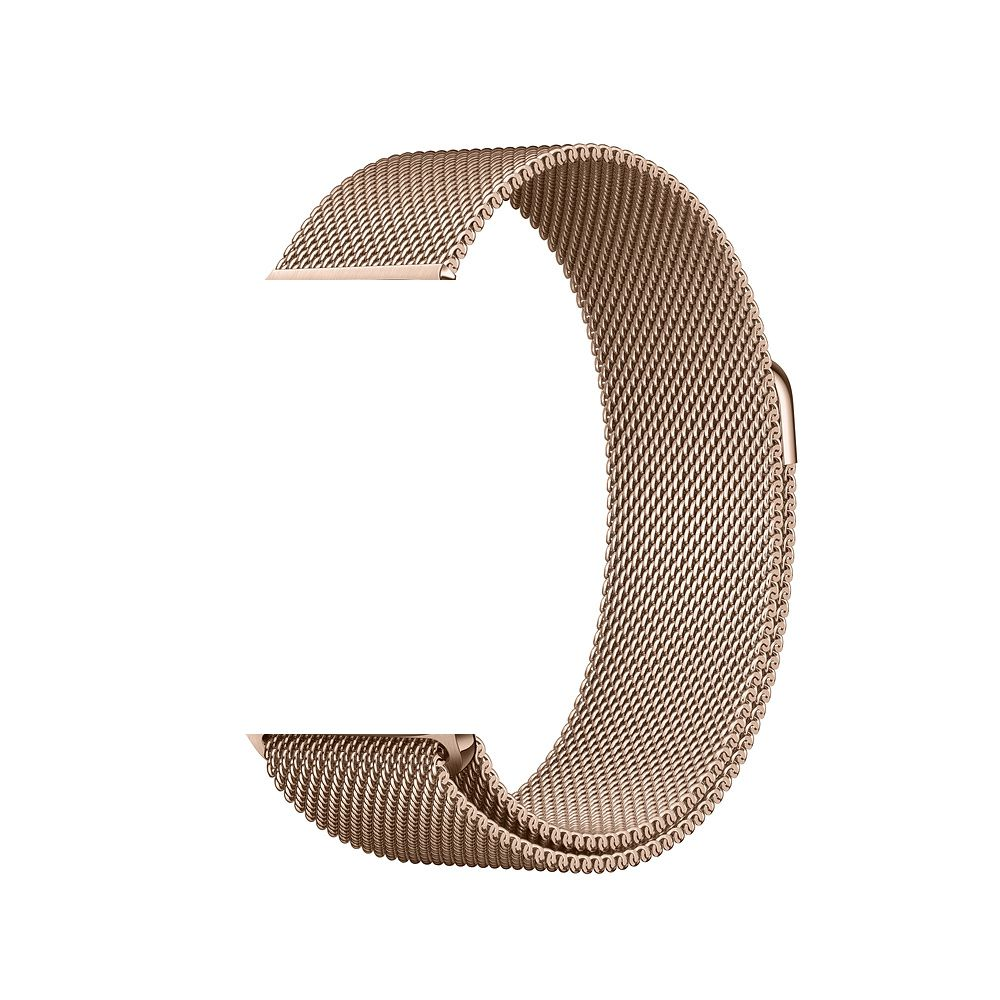 Pulseira Aço Apple Watch 42/44mm Cor Ouro Champagne
