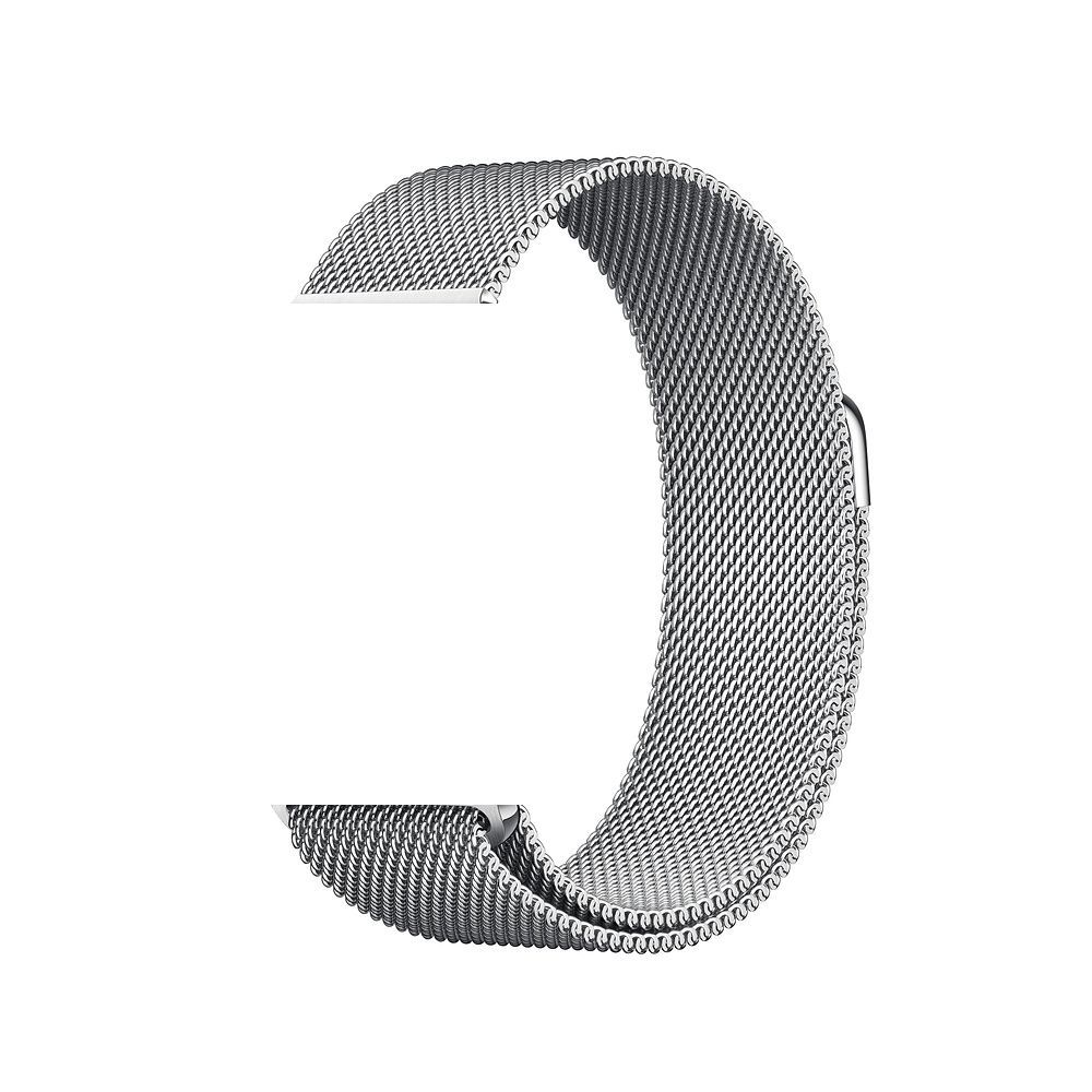 Pulseira Aço Apple Watch 42/44mm Cor Prata