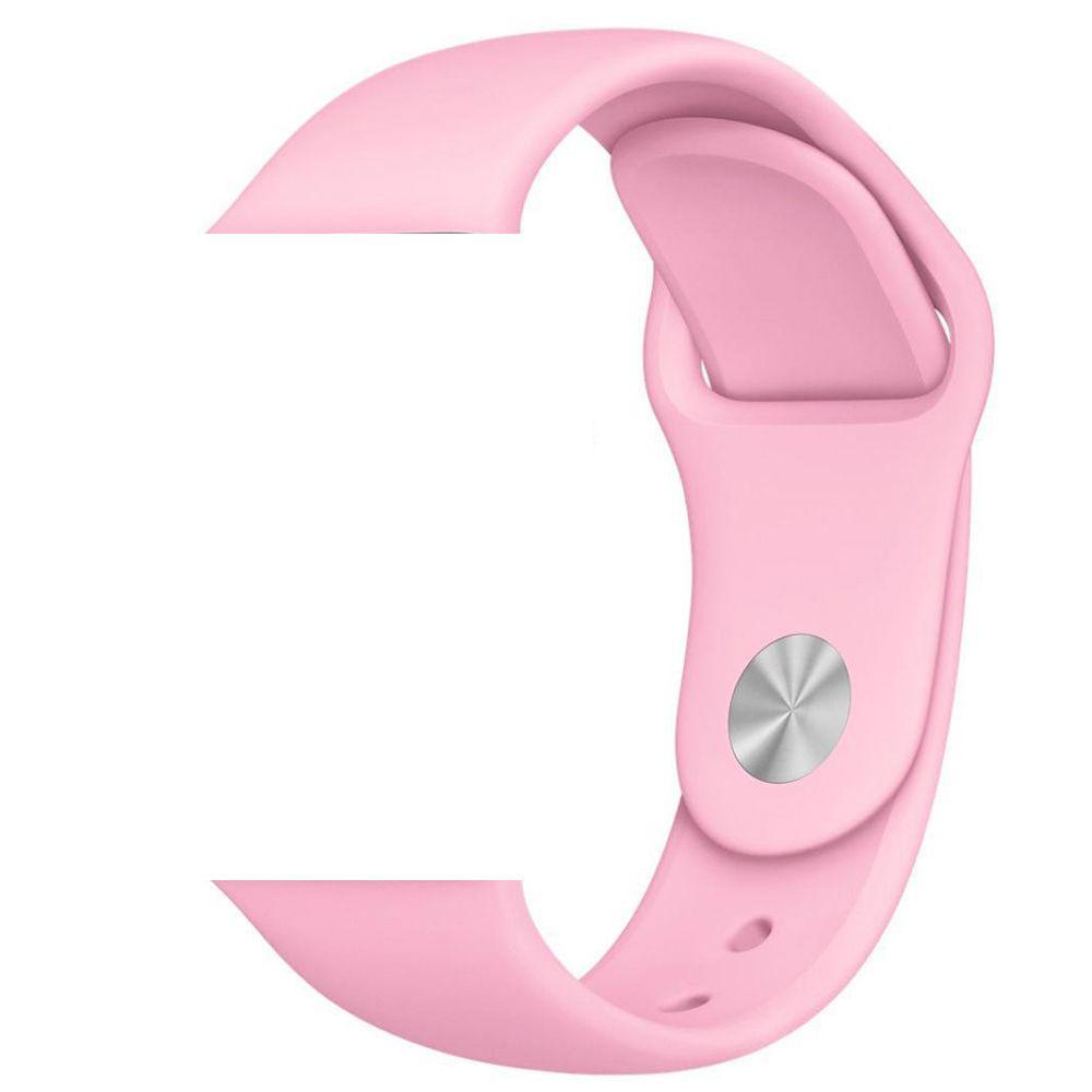 Pulseira de Silicone Smart Watch Esportiva 42/44 mm - Rosa