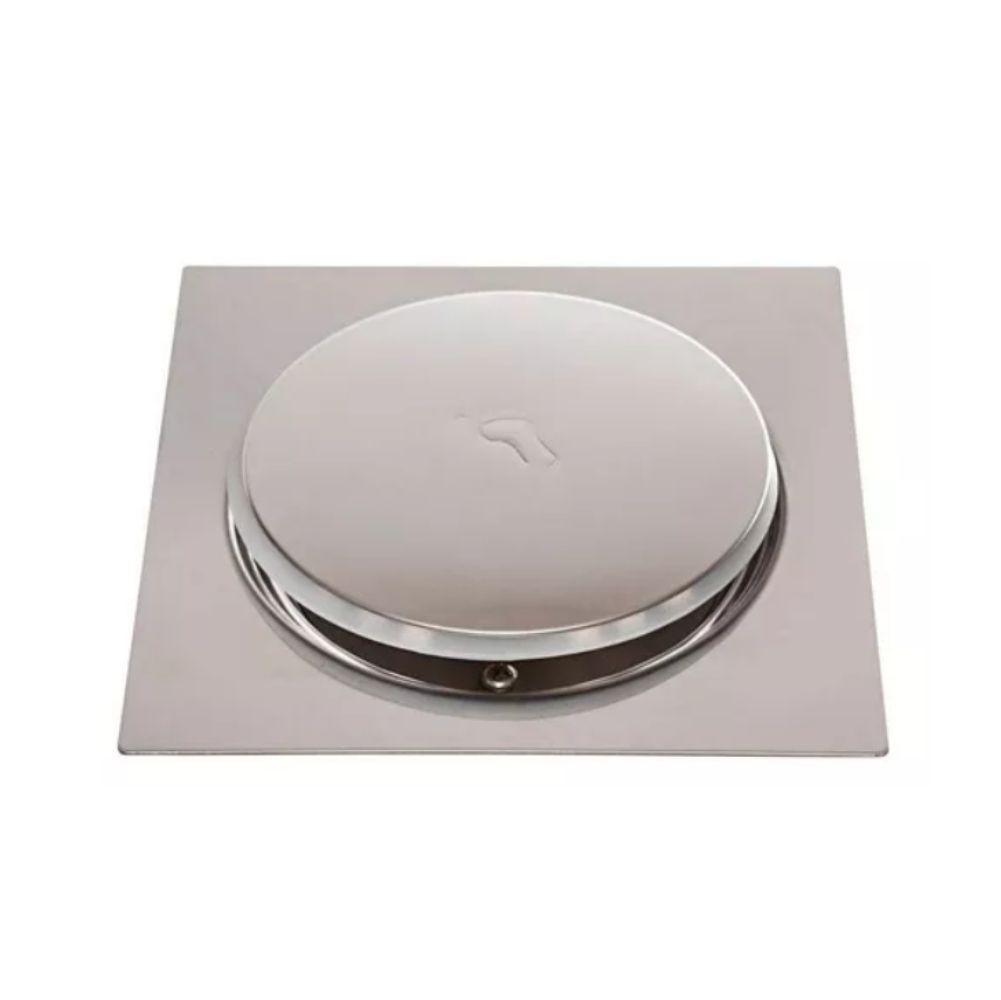 Ralo Inteligente para Banheiro Click Pop Up 10cm x 10cm