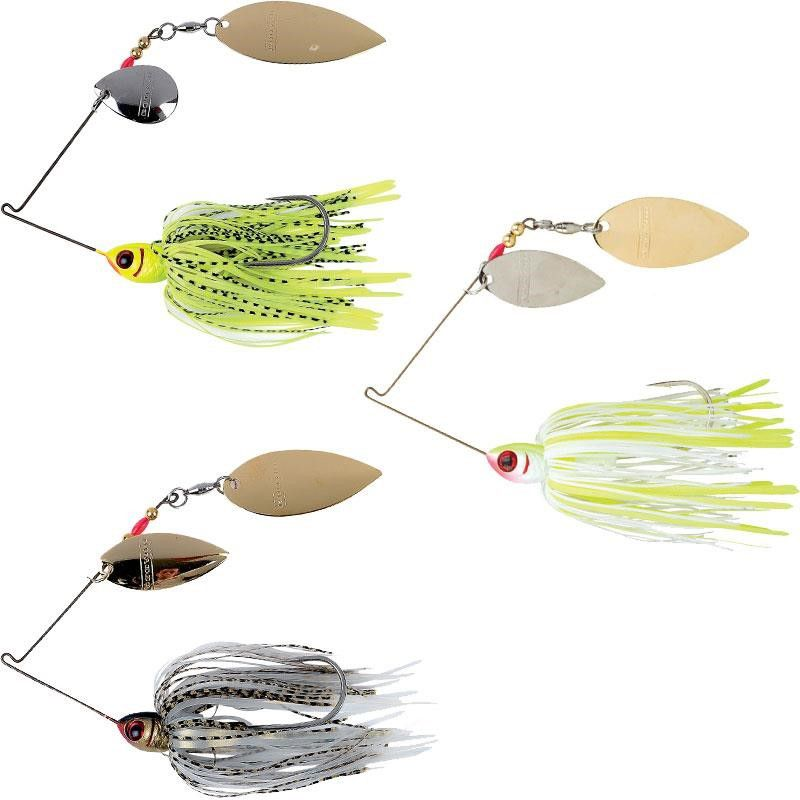 Spinner Bait Isca de Pesca Artificial Pack com 6