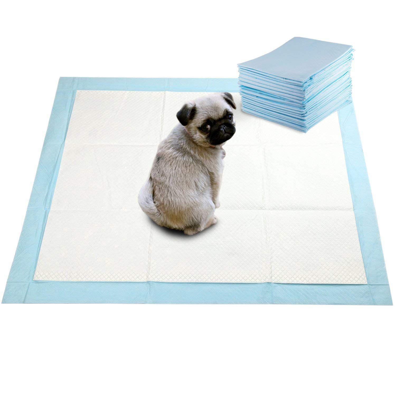 Tapete Higiênico para Cachorro 60x60cm ultra absorção de 1L pack com 30un
