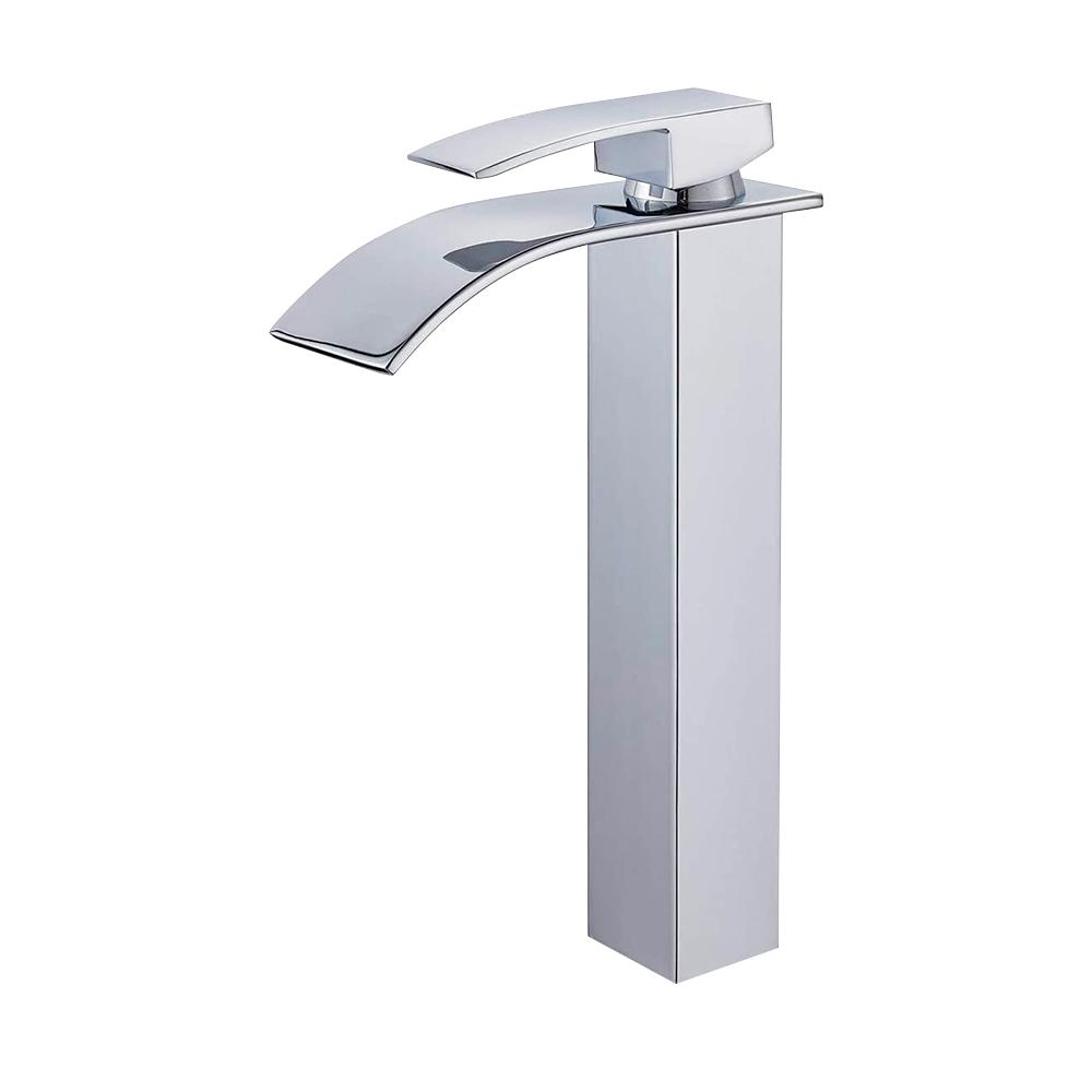 Torneira Cascata Banheiro Alta Monocomando Misturador