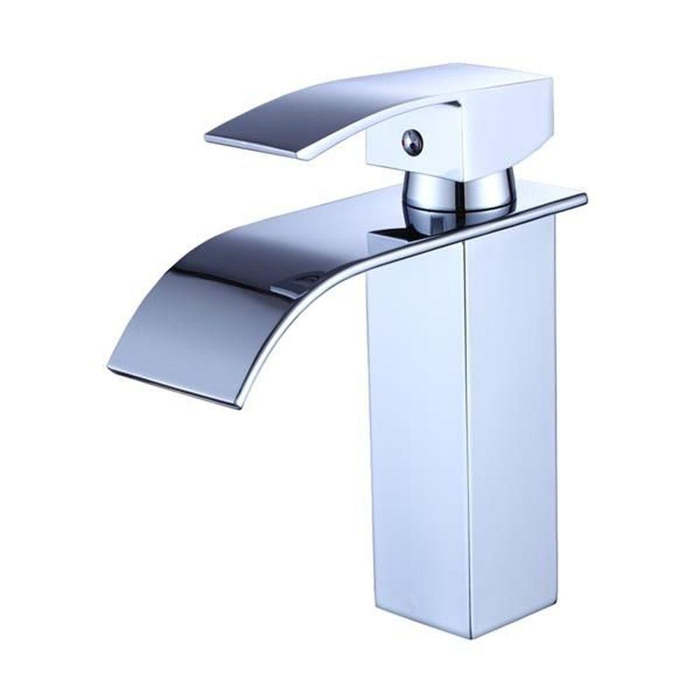 Torneira Para Banheiro Monocomando Misturador Cascata