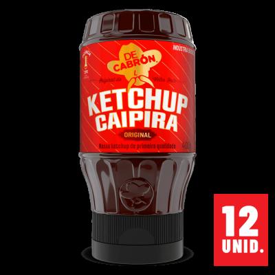 CAIXA 12 UNIDADES DE KETCHUP CAIPIRA ORIGINAL 400G