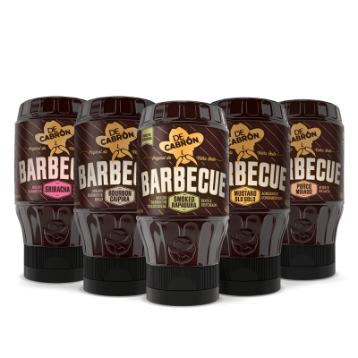 Combo molhos barbecues