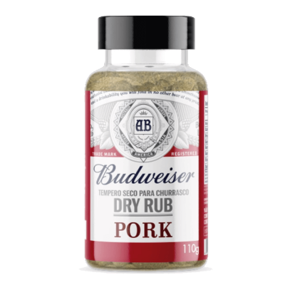 DRY RUB PORK BUDWEISER