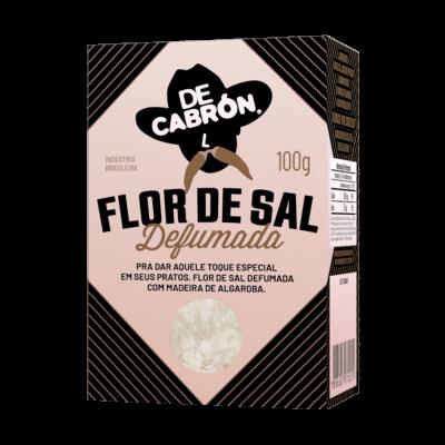 FLOR DE SAL  DEFUMADA DECABRÓN 100G
