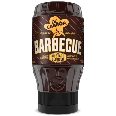 MOLHO BARBECUE MUSTARD OLD GOLD