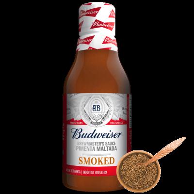 MOLHO DE PIMENTA BUDWEISER SMOKED
