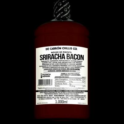 MOLHO SRIRACHA BACON FOOD SERVICE 1L