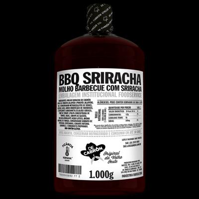 MOLHO BARBECUE SRIRACHA FOOD SERVICE 1KG