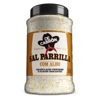 SAL PARRILLA  COM ALHO DECABRÓN 500G