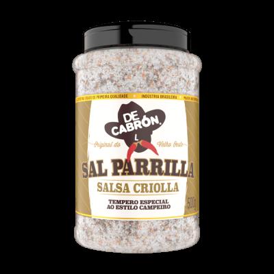 SAL PARRILLA  SALSA CRIOLLA DECABRON 500G