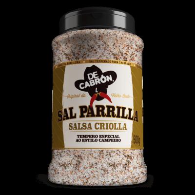 SAL PARRILLA  SALSA CRIOLLA DECABRÓN 500G