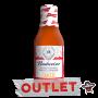 Molho de Pimenta Budweiser Garlic - 210ml (Atenção! Produto próximo ao vencimento. Validade: 02/03/22) - OUTLET