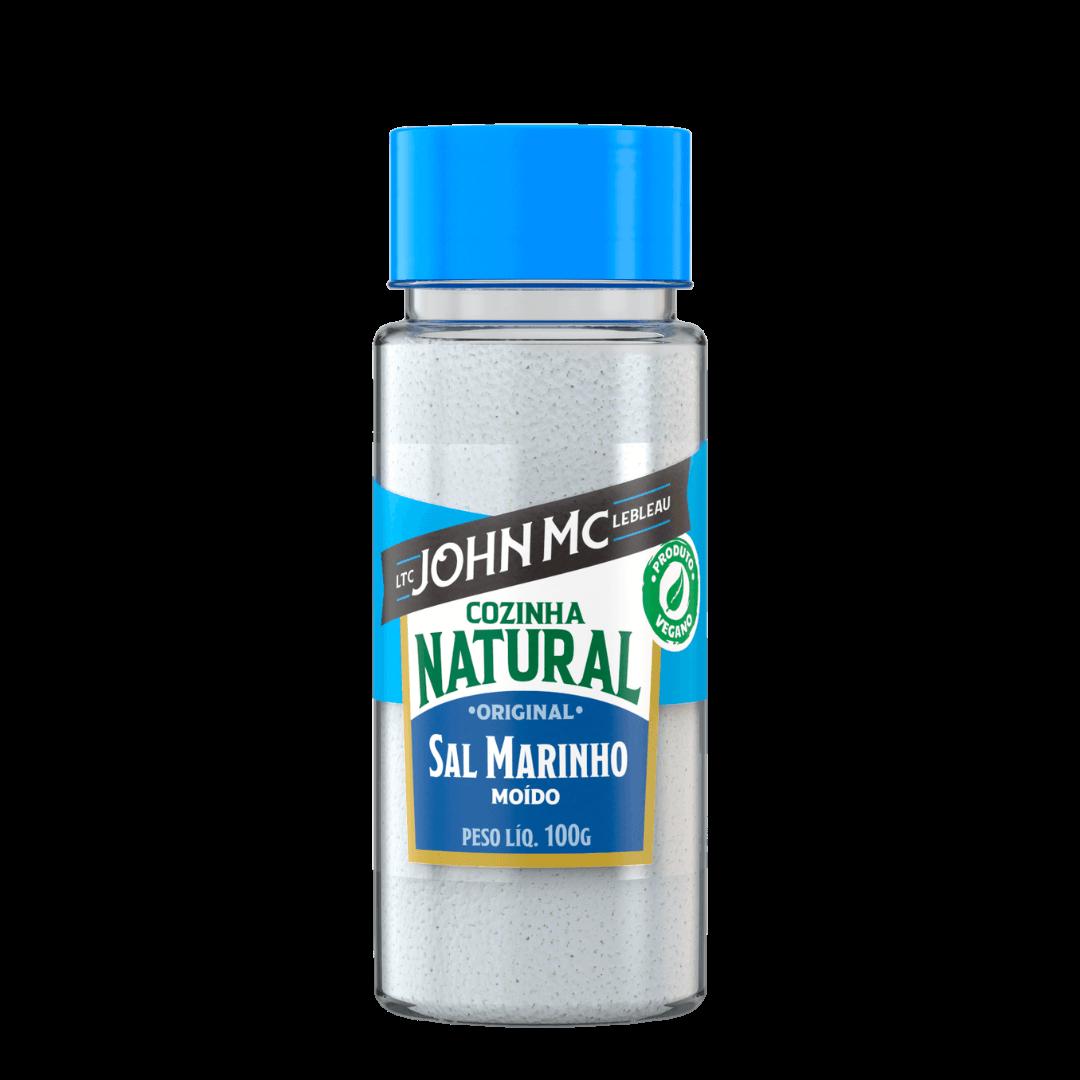Sal de Finalização Marinho Moído 100g + 50g grátis - Cozinha Natural