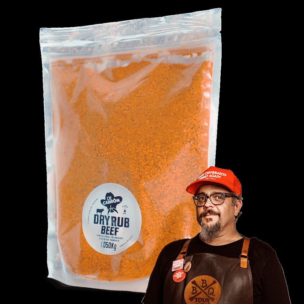 Dry Rub Beef Bruno Panhoca - Bag 1,050kg