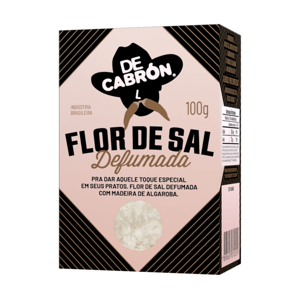 Flor de Sal Defumada - 100g
