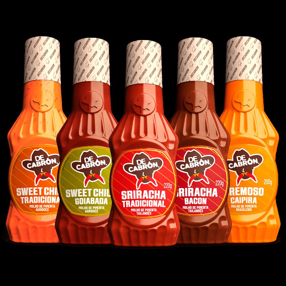 Linha Sweet+Sriracha+Cremoso Caipira 200g DECABRÓN