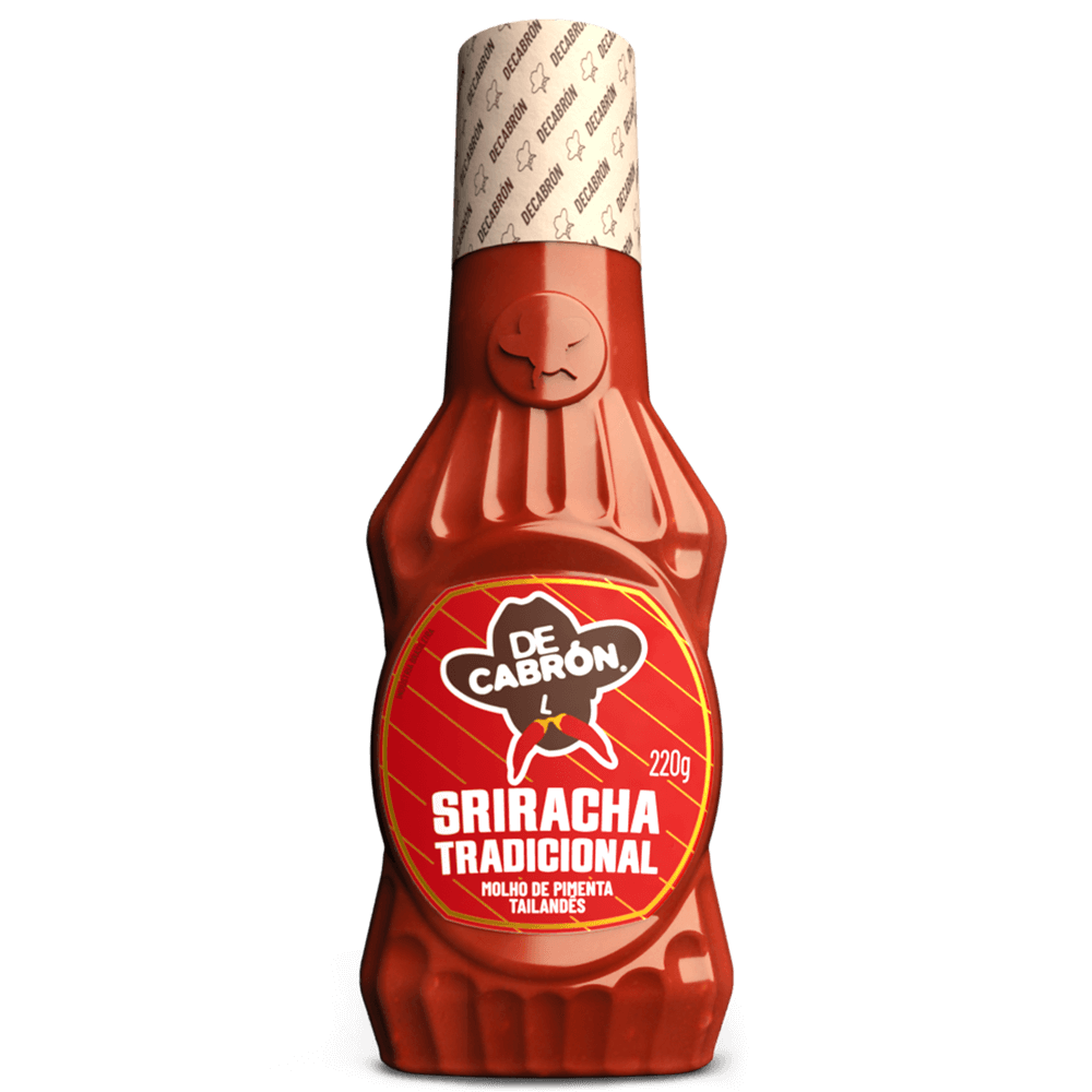 Molho de Pimenta Sriracha Tradicional - 220g
