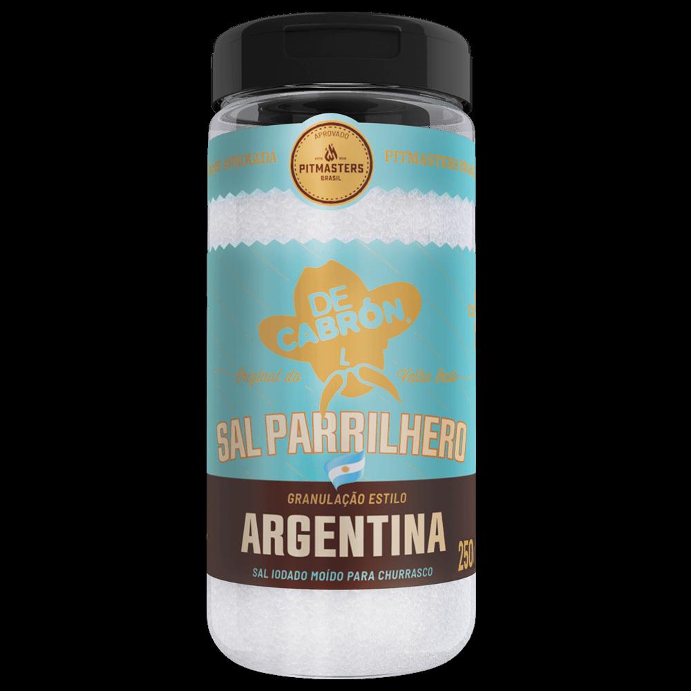 Sal Parrilhero Argentino - 250g - COMBO