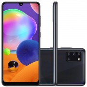 Smartphone Samsung Galaxy A31 128gb Dual Chip Android 10 Tela 6.4 Octa-Core 128GB 4G Câmera Quádrupla 48MP+8MP+5MP+5MP