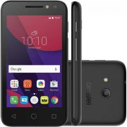 Smartphone Alcatel 4034E Light Pixi 4, Dual chip, 8MP, 4'', 8GB expansível até 32GB, 3G