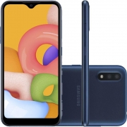 Samsung Galaxy A01 Dual Chip Android 10.0 Tela 5.7 1D Octa-Core 32GB 4G Câmera 13MP - Azul