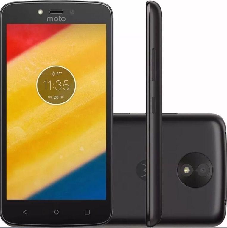 Smartphone Motorola Moto C Xt1750,tela 5.0, Dual Sim,8gb, 5mp/2mp