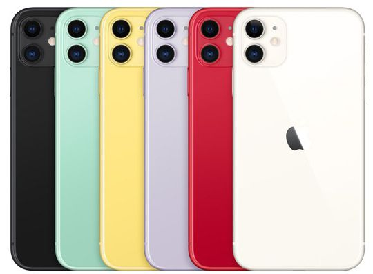 """iPhone 11 Apple com 256GB, Tela Retina HD de 6,1"""", iOS 13, Dupla Câmera Traseira de 12 MP, Resistente à Água e Bateria de Longa Duração"""