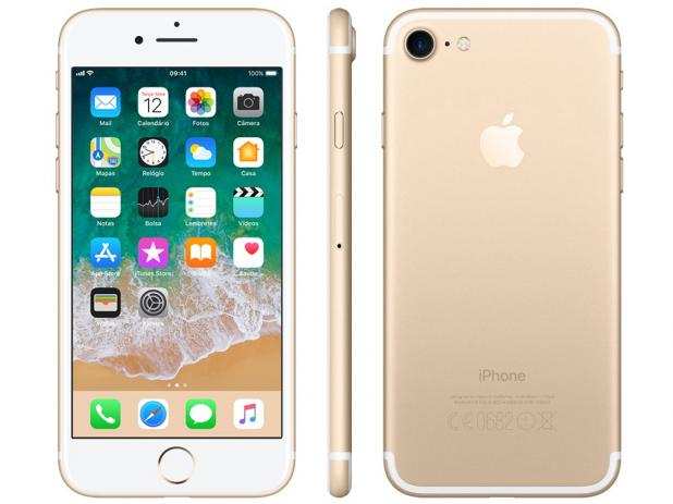 iPhone 7 32GB Desbloqueado IOS 10 Wi-fi + 4G Câmera 12MP - Apple