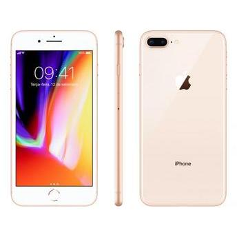 IPHONE 8  PLUS 256GB DOURADO