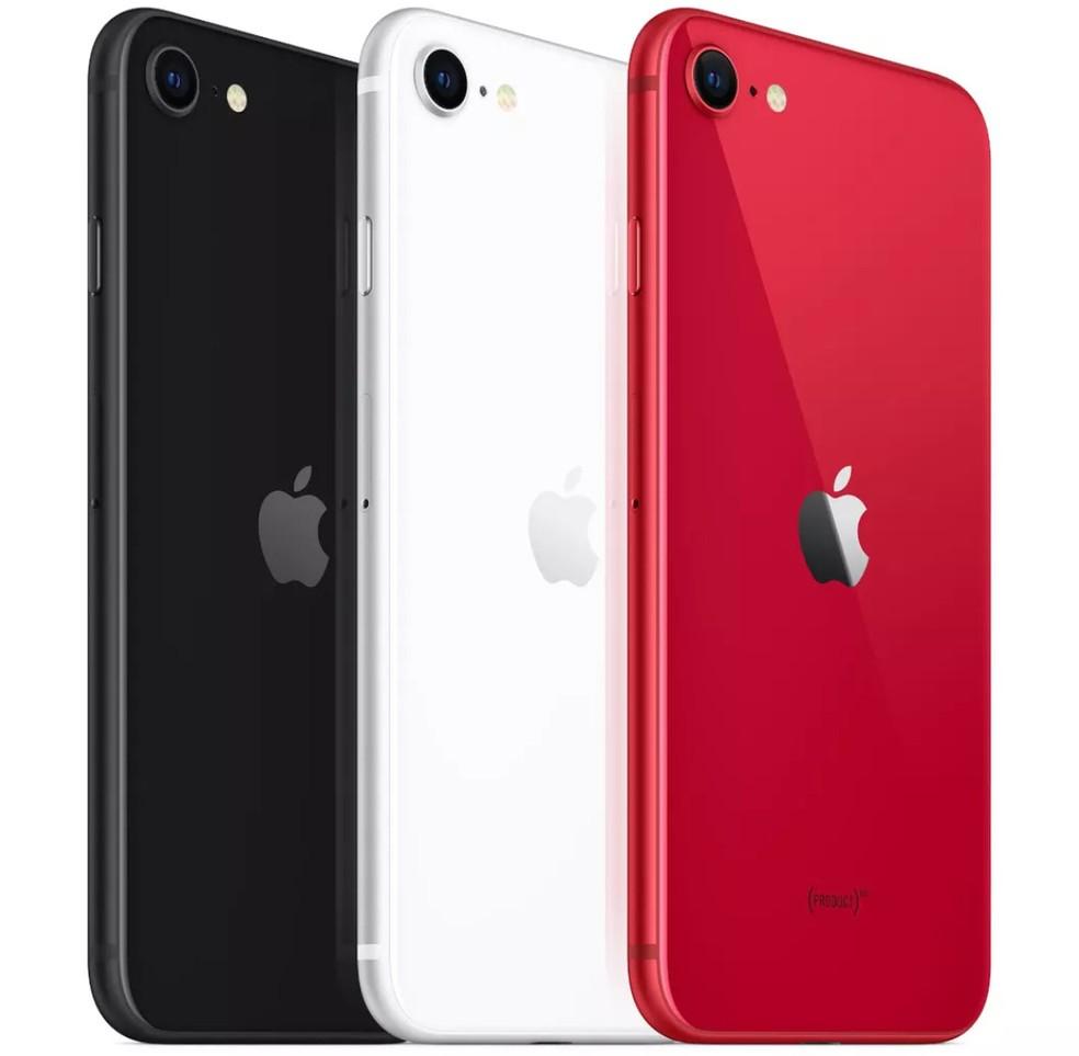 """iPhone SE 2 Apple 256GB, Tela 4,7"""", iOS 13, Sensor de Impressão Digital, Câmera iSight 12MP, Wi-Fi, 4G, GPS, Bluetooth e NFC"""