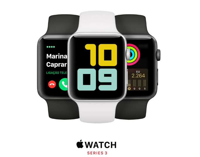 Relógio Apple Watch 3 Series 38MM MR352LL