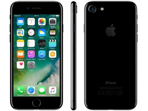"Seminovo de vitrine - iPhone 7 32gb Tela LCD Retina HD 4,7"" iOS 13 - Apple"