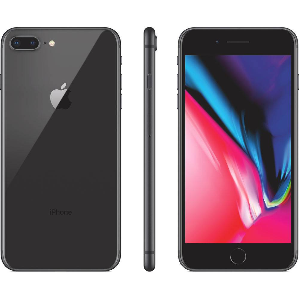 "Seminovo de Vitrine - iPhone 8 Plus 256gb Tela 5.5"" iOS 12 4G Câmera 12 MP - Apple"