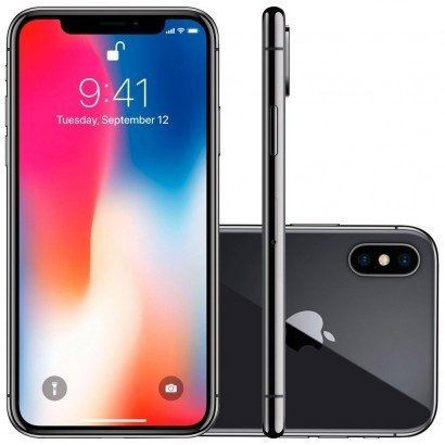 Seminovo de vitrine - iPhone X 256GB IOS 12 4G + Wi-fi Câmera 12MP - Apple