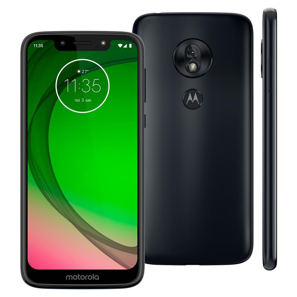 "Smartphone Motorola Moto G7 Play XT1952 32GB, Tela de 5,7"", 2GB de RAM, Dual Chip, Android 9.0, Câmera 13MP e Processador Octa-Core"