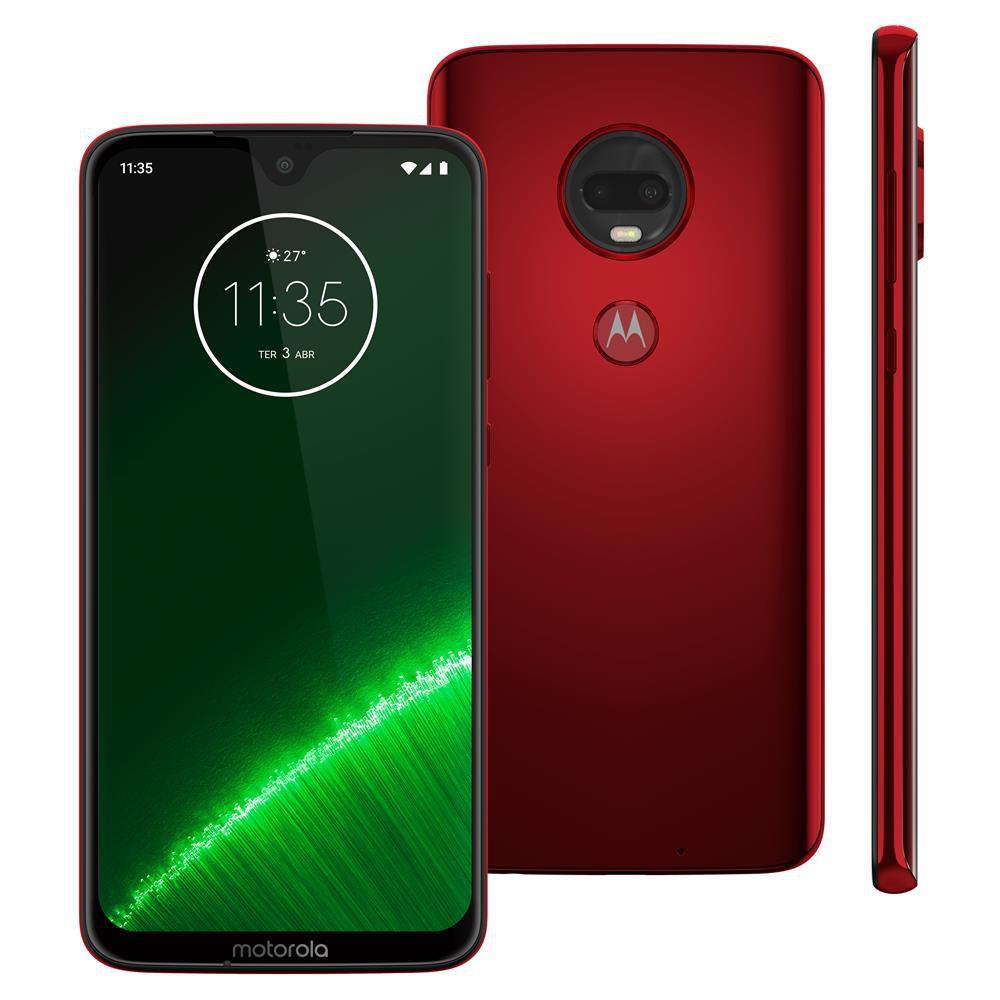 Smartphone Motorola Moto G7 Plus XT1965 64GB, Tela de 6,24