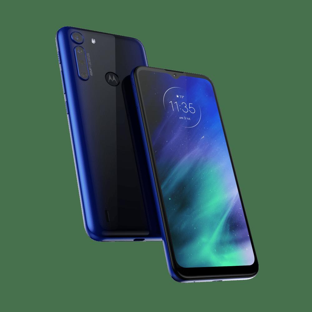 "Smartphone Motorola One Fusion Dual Chip Android Tela 6.5"" 128GB 4G Wi-Fi Câmera 48MP+8MP"