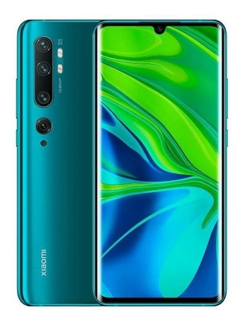 Smartphone Xiaomi Mi Note 10 128GB Qualcomm Snapdragon 730G 2 Chips Android 9.0 Global - Verde