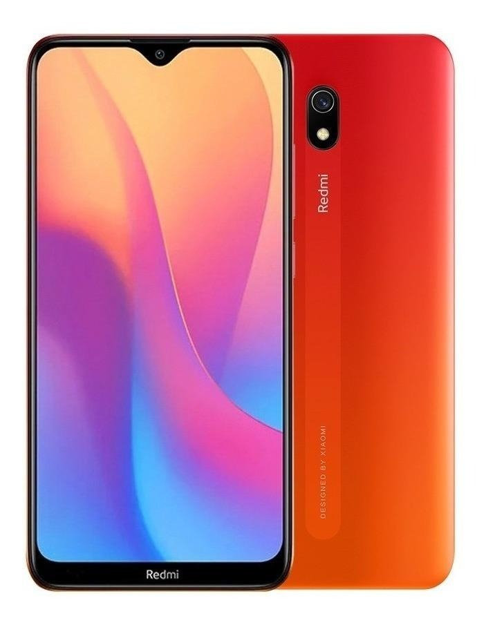 Smartphone Xiaomi Redmi 8A 32GB 2GB RAM 6,22 1D Câm. 12MP + Selfie 8MP - Vermelho Por do Sol