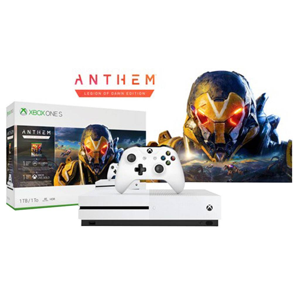 Xbox One S 1TB + Game Anthem - Microsoft