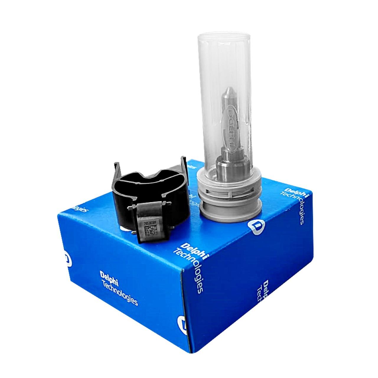 Kit Reparo Bico e Valvula do Injetor Ssangyong Kyron e Rextron  2.7 20V Diesel Euro 3 Até 2011 Novo Original