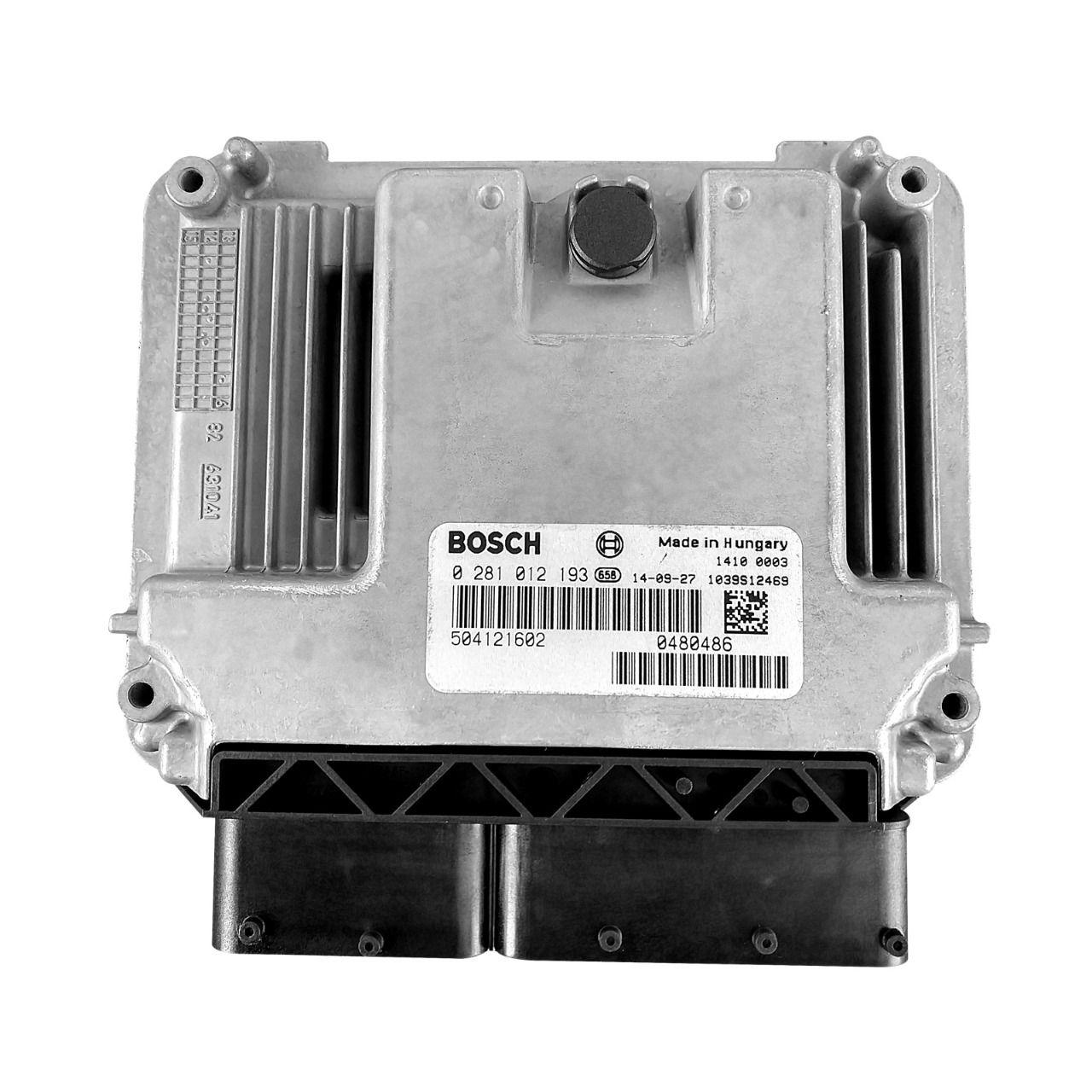 Modulo de Injeção Eletrônica  Iveco Daily 35S14 / 40S16 / 45S14 / 45S16 / 55C16 / 70C16  Todas 3.0 16V Euro 3