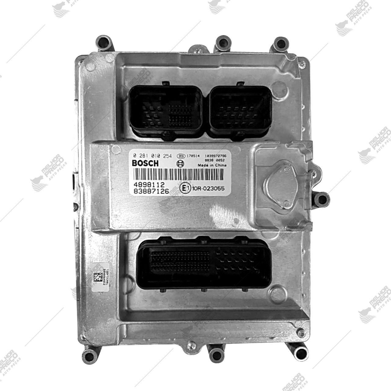 Modulo de Injeção  Para Caminhão  Volkswagem  Ford Cargo  Numero 0281010254
