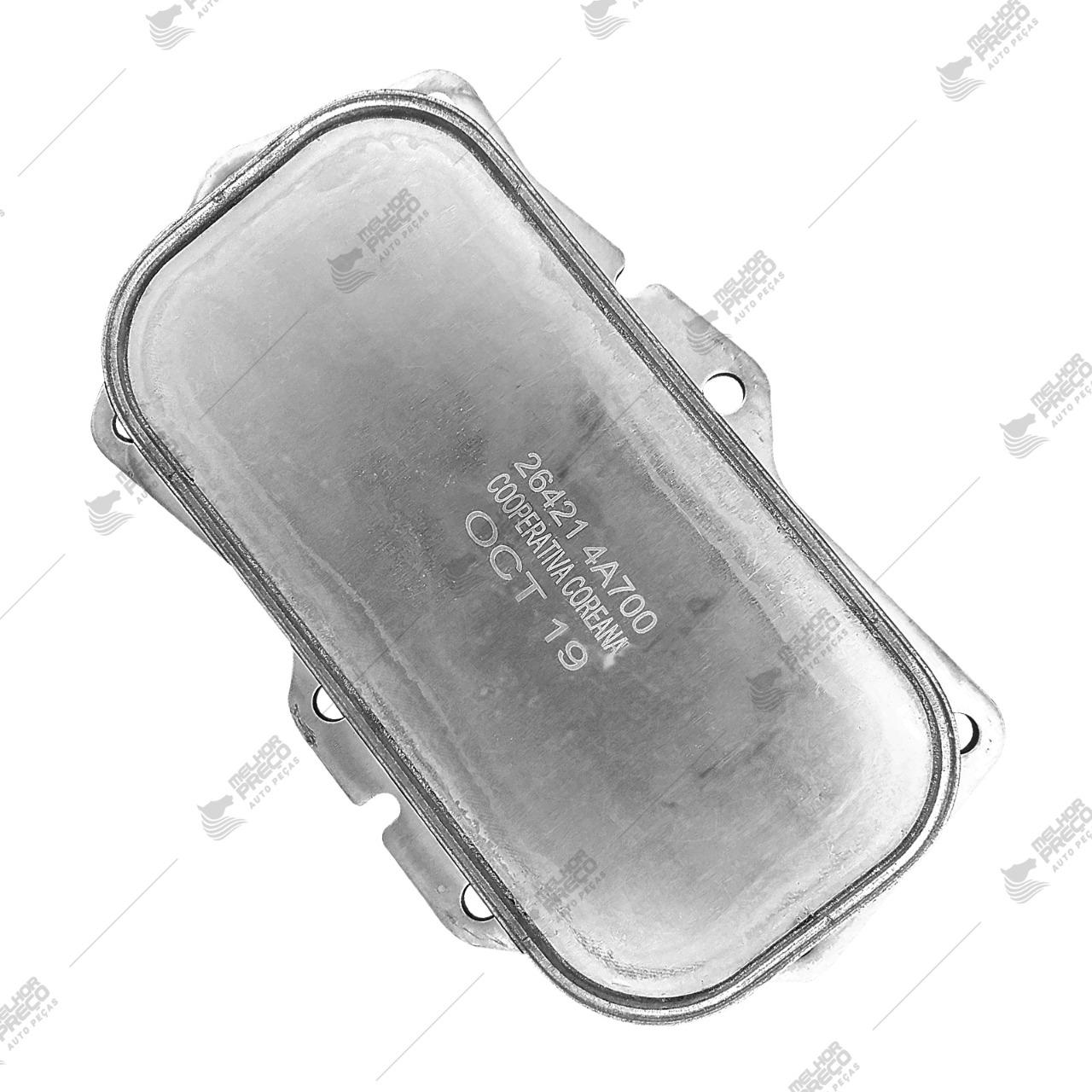 Resfriador De Óleo Trocador De Calor Hyundai HR e Kia Bongo 2.5 16v Euro V Ano 2012 a 2020